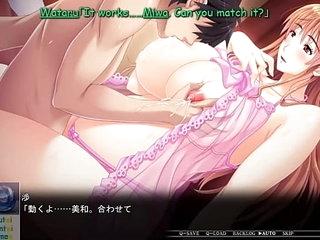 Kyonyuu Hitozuma Onna Kyoushi Saimin - Translate Eng, part 18. >43 min