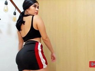 Beautiful Venezuelan Culona sends her PACK 18 >46 sec