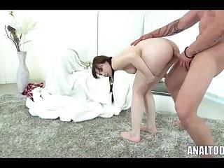 Anal Throat Fuck Teen By Luna 28 min