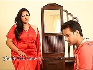 Fat indian girl seducking a guy