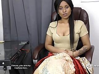 Camera girl indain lady teasing