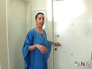 This muslim girl has never seen such a big cock in all her life